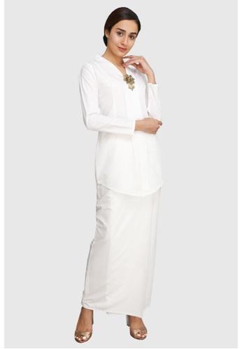 Amar Amran white Baju Kebaya Rokiah 8B419AA9D41771GS_1