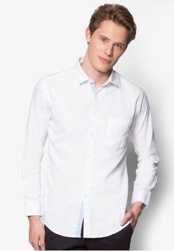 esprit 價位貼身長袖襯衫, 服飾, 襯衫