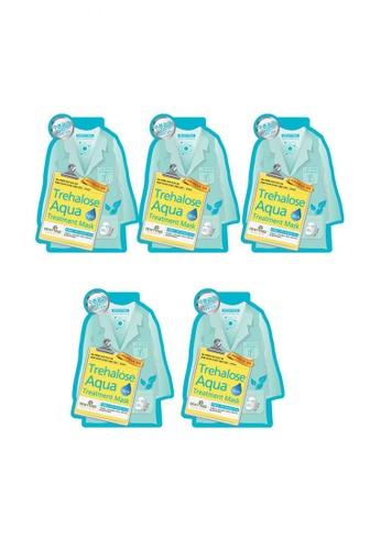 537edfa0c Shop Dewytree Trehalose Aqua Treatment Mask Set of 5 Online on ...