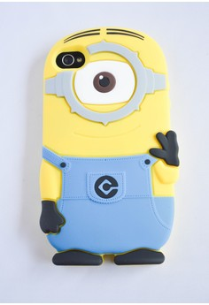 Minion Rubber Case for iPhone 4/4s