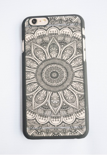 Fancy Cellphone Cases black Mandalian for iPhone 6 FA644AC15EWMPH_1