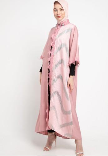 LUIRE by Raden Sirait pink Ms Coat Monic Panjang Bog A9A67AAD104B9AGS_1