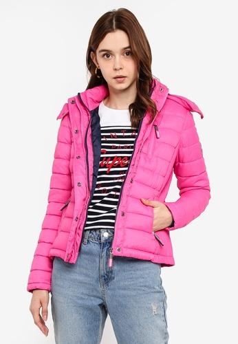 Fuji Slim Double Zip Hood Jacket