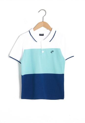 LC Waikiki blue Casual Polo Shirt E58DAKA26C71A9GS_1