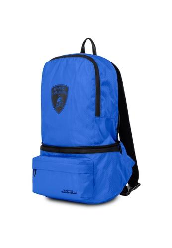 Lamborghini blue Automobili Lamborghini® Galleria Blue Backpack 09F36AC4F6801CGS_1