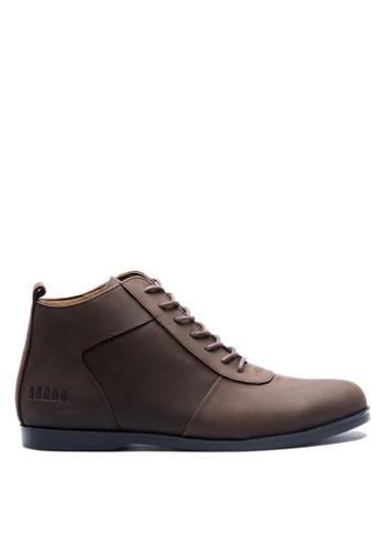 Brodo brown BRODO - Sepatu Pria Ventura E+ Dark Choco BS 4F5F9SHA18D2D2GS_1
