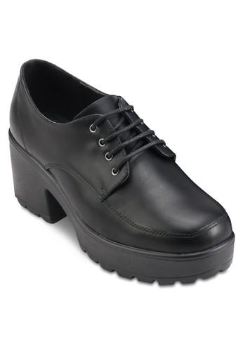 Flint 厚底粗跟繫帶鞋、 女鞋、 鞋TOPSHOPFlint厚底粗跟繫帶鞋最新折價