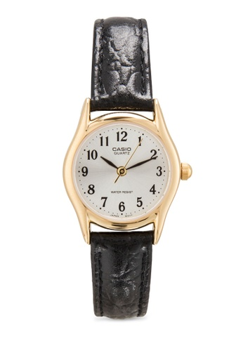 Casio black Casio Standard Women's Black Leather Strap Watch LTP-1094Q-7B2RDF CA843AC82MKFMY_1