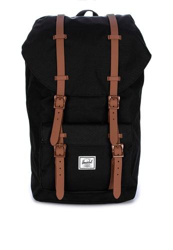 Herschel black Herschel Little America Backpack 609C4ACABBFF17GS_1