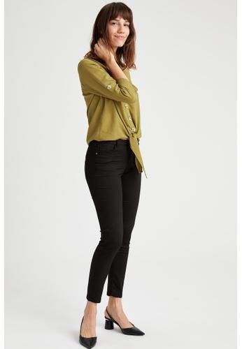 DeFacto black Woman Woven Trouser D8C13AA257EFC1GS_1