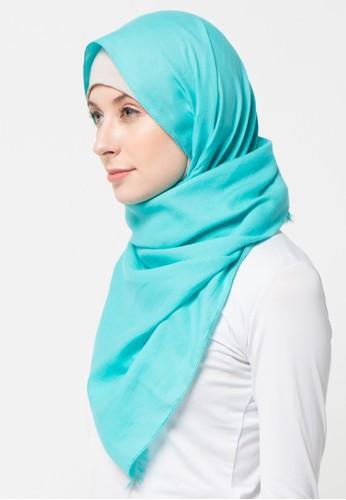 Aira Muslim Butik blue Pashmina Foal Rawis AI892AA31XZWID_1