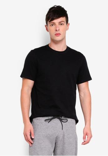 Guess 黑色 Guess Cotton Short Sleeve Plain Tee 0865EAA79D4D85GS_1