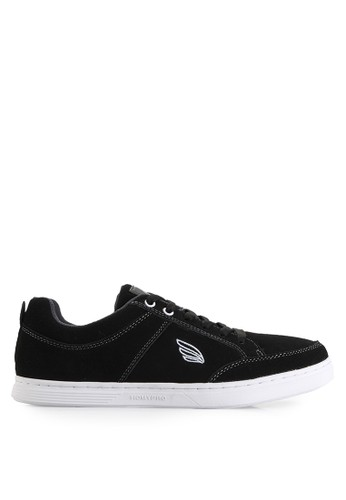 Homypro black Thomson 01 Sneakers HO843SH17URUID_1