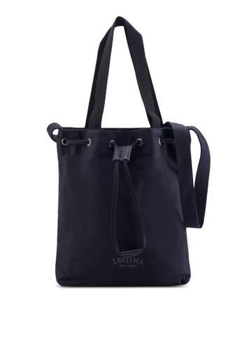 束口esprit hk分店帆布水桶包, 包, 手提包
