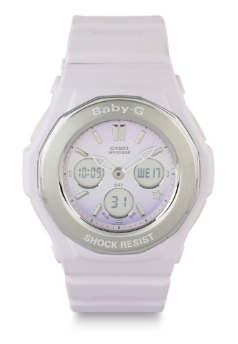 Baby-G purple and multi Women Analog Watches Bga-100St-4Adr D6D06ACC2C5527GS_1