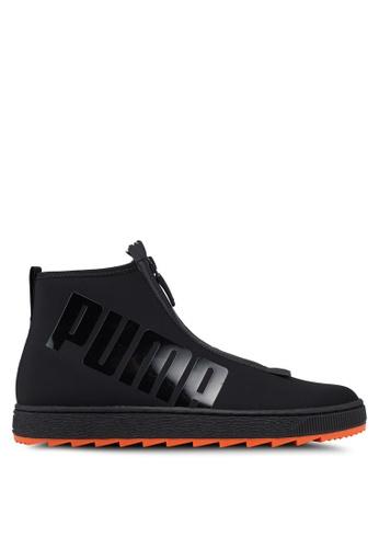 Puma Select black Puma x ANR Basket Boot Shoes 1FD86SHE7ECF54GS_1