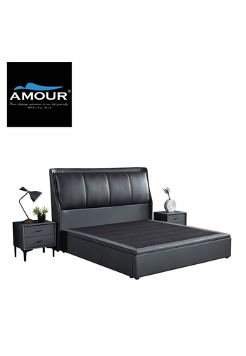 AMOUR AMOUR Premium PU leather Storage Bed C59C7HLC337976GS_1
