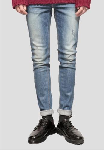 水洗esprit門市地址錐形牛仔褲, 服飾, 窄管牛仔褲