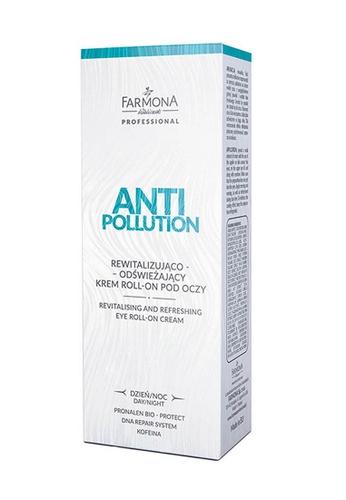 Farmona ANTI POLLUTION Revitalising and Refreshing Eye Roll-On Cream, 15ml 9125CBED077233GS_1