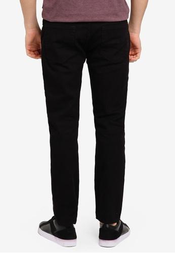 Burton Menswear London black Black Vintage Slim Fit Jeans BU964AA0T1GOMY_1
