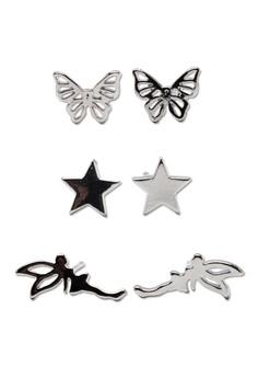 Earrings Set 7 (3 Pieces Set)