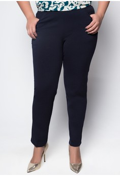 Plus Size Regular Trousers 1001