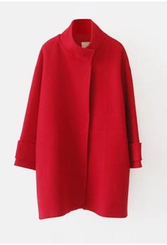 羊毛大衣馬甲兩件套