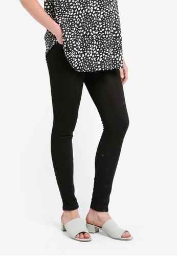 Dorothy Perkins black Maternity Black Superskinny Jeans DO816AA0RP4PMY_1