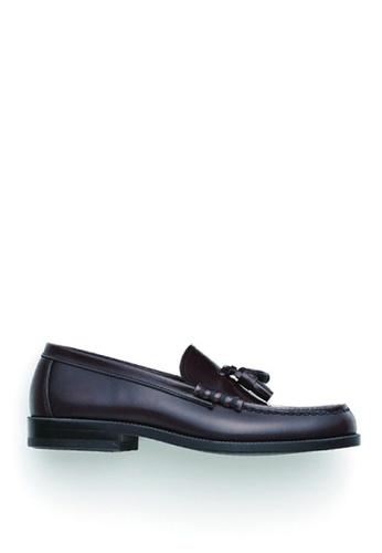 HARUTA brown Tassel loafer-MEN-907 EA31FSHEBD4CA6GS_1