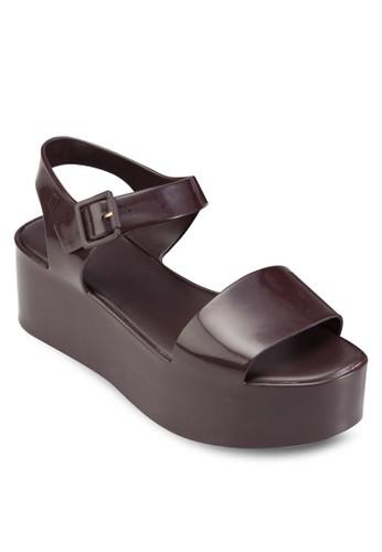 Mar 厚底涼京站 esprit鞋, 女鞋, 楔形涼鞋