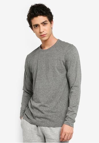 958fb6f17a07 Buy Brave Soul Long Sleeve Crew Neck T-Shirt Online | ZALORA Malaysia