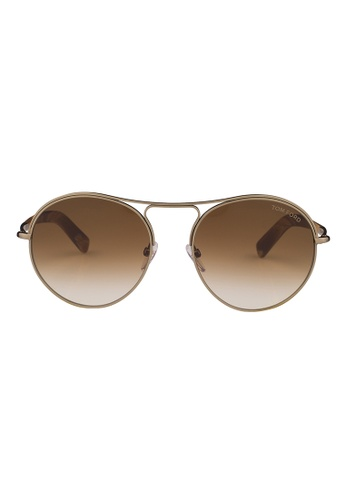 Tom Ford gold TOM FORD Jessie Sunglasses FT0449 33F TO545AC80JIHMY_1