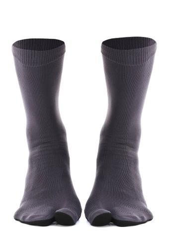 Hamlin grey Hamlin Nercyla Kaos Kaki Wanita Toe Socks Two Tone Casual Footwear Material Spandex ORIGINAL 9E913AA89BFDD5GS_1