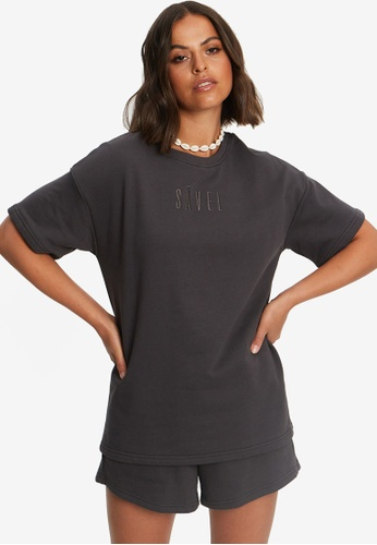 Sável grey Classic Tshirt 82413AAEA7A6B9GS_1