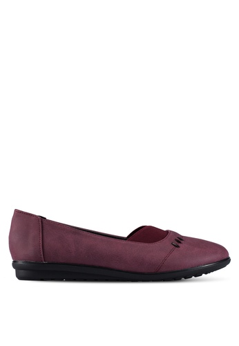 Louis Cuppers red Casual Flats LO977SH0RX3ZMY_1