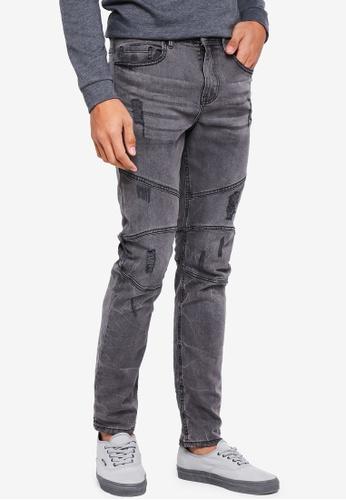 Cotton On 灰色 Slim Fit Jeans 5C8E5AA35173D9GS_1
