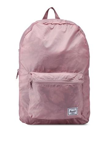 Herschel pink Packable Backpack FE9D2AC53F6FF0GS_1