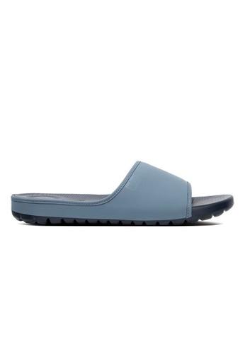 Fitflop blue Fitflop Lido Slide Sandals In Neoprene (Sea Blue) C31B3SHBAEA49EGS_1