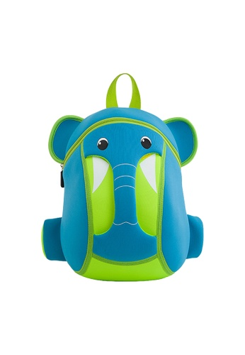 Nohoo blue Nohoo Kids Backpack Elephant Trunk (Blue) 2469BKCBEA86AFGS_1