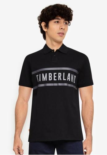 Timberland 黑色 AF TFO CC Brand Carrier Regular Polo 襯衫 D5B08AA0D0BD66GS_1