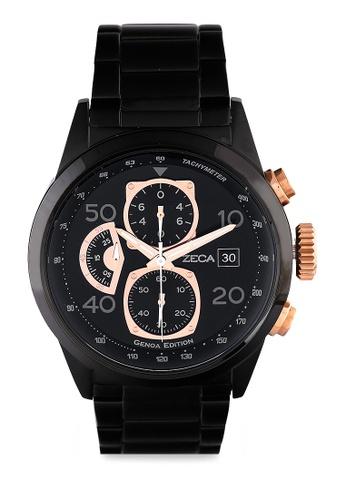 ZECA black Zeca Watches Man Fashion Stainless Steel Analog - 2010MB Black Rosegold 3F00CAC459227FGS_1