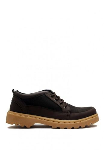 D-Island brown D-Island Shoes Low Boots Rider Fashion Dark Brown DI594SH0VOGDID_1