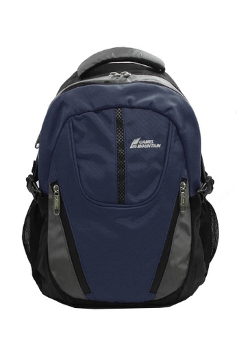 CAMEL MOUNTAIN black and grey and navy CAMEL MOUNTAIN BACKPACK SERIES 1977 15122AC0C3407EGS_1