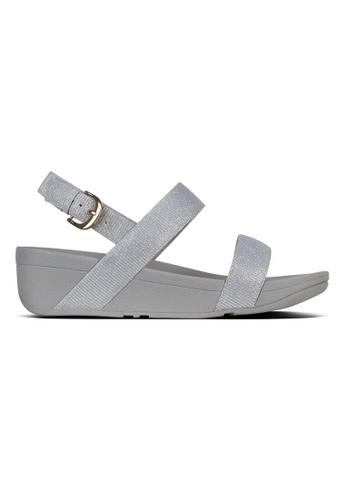 d0399b1b4 Fitflop silver Fitflop Lottie Glitzy Sandal (Silver) 59B85SHF551BBDGS 1