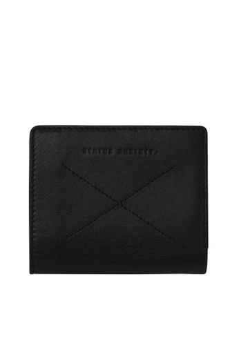 Status Anxiety black Status Anxiety Clifford Wallet - Black 98BAFACAA82963GS_1