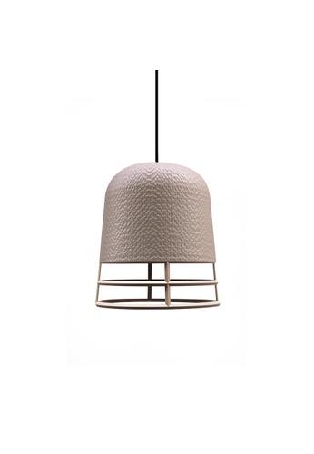 Qualy Qualy Small Carver Lamp Wireframe (Cream) B7E13ES1803A96GS_1
