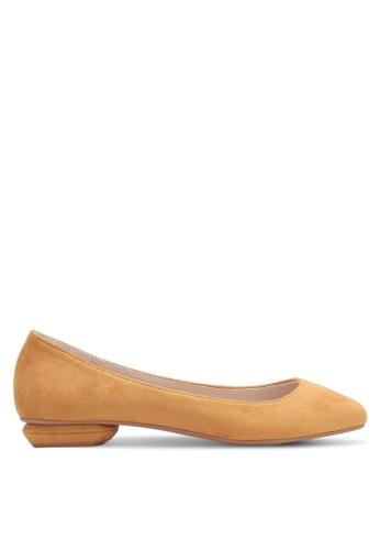 ZALORA yellow Ballerina Flats 43C5ESH92C9D35GS_1