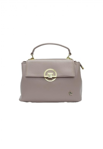 POLOVENZI pink POLOVENZI Ladies Hand Bag + Free Gift A9D28AC61C7EDEGS_1