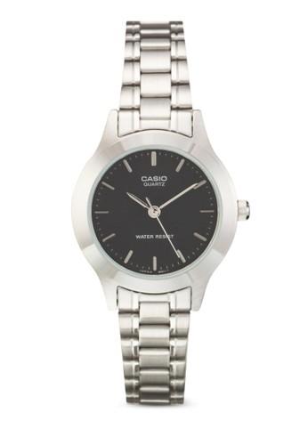 不銹鋼圓框鍊錶, 錶類, 飾品配esprit outlet 高雄件