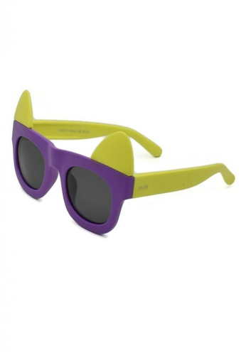 jojo purple Oversized Kitty Wayfarer Polarized Sunglasses E85DCKC97A0FB8GS_1